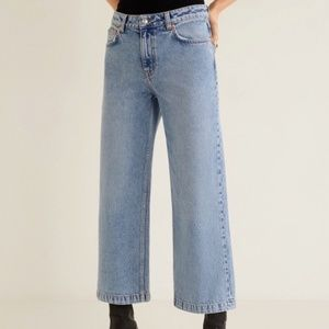 MNG Culotte Relaxed Jeans Organic Cotton 6